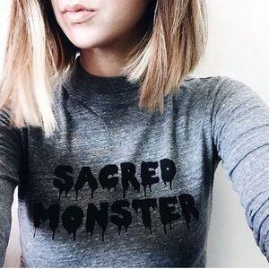 Alexa Chung x AG Sacred Monster Relaxed Tee XS